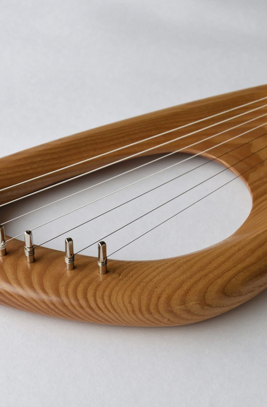 7 String Pentatonic Lyre, Ash Wood