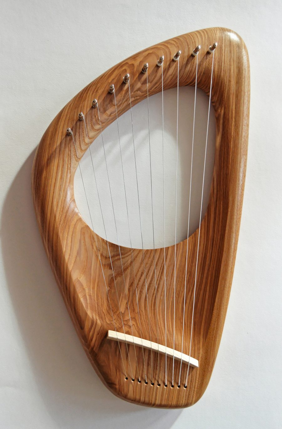 10 String Pentatonic Lyre, Ash Wood, Hand crafted