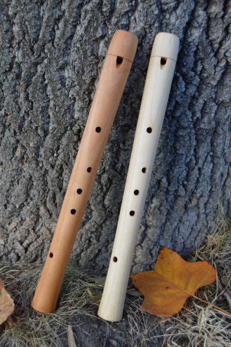 Pentatonic Flutes, Maple and cherry