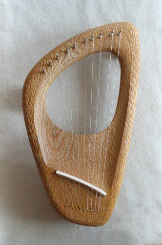 10 string Pentatonic Lyre, Ash