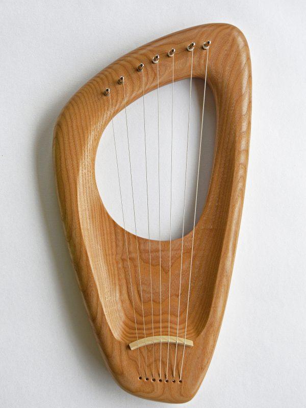 7 string Pentatonic Lyre, Ash