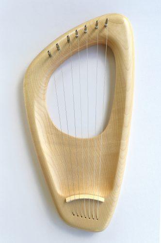 7 string Pentatonic Lyre, Maple
