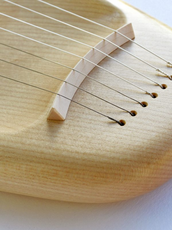 7 string Pentatonic Lyre, Maple