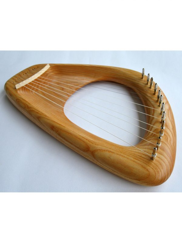 12 string Diatonic Lyre, Ash